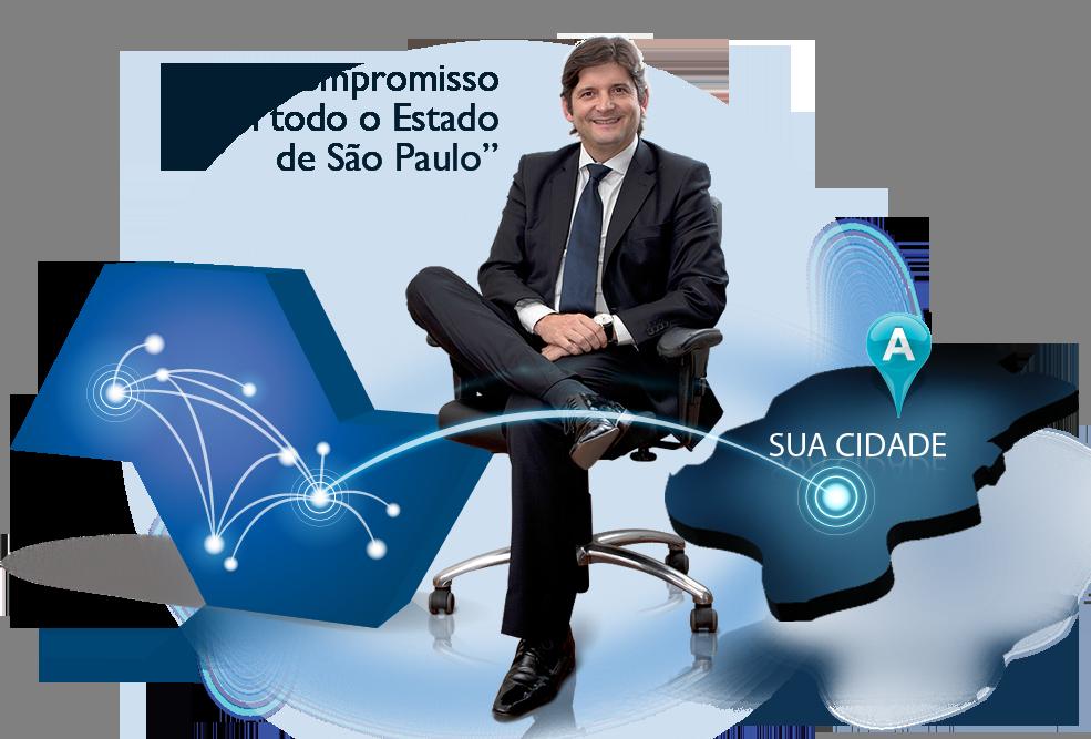 Meu compromisso é com todo o Estado de São Paulo