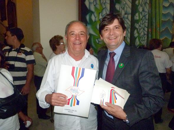 André do Prado e Abel Larini