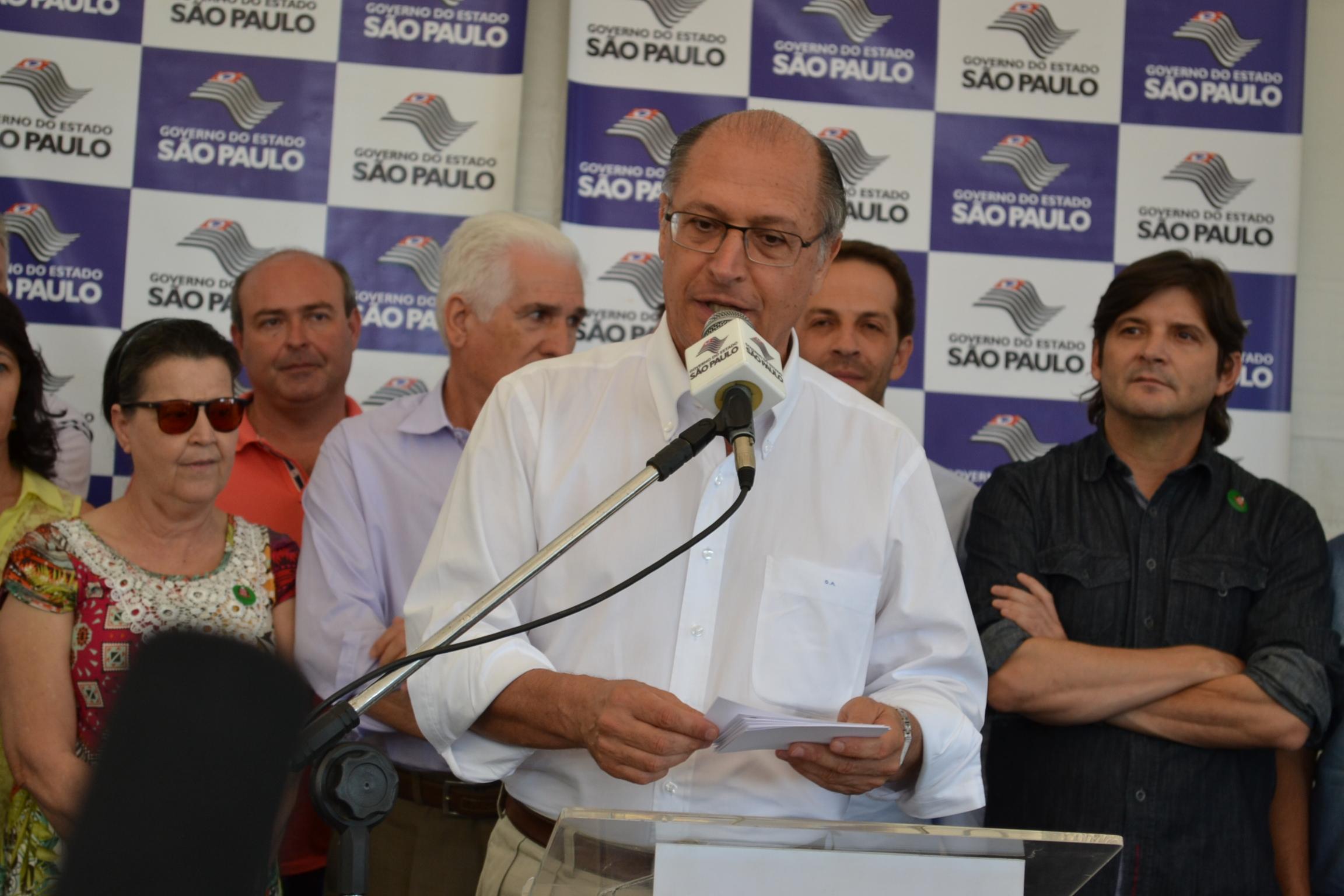 Deputado André do Prado acompanha o governador em Rafard