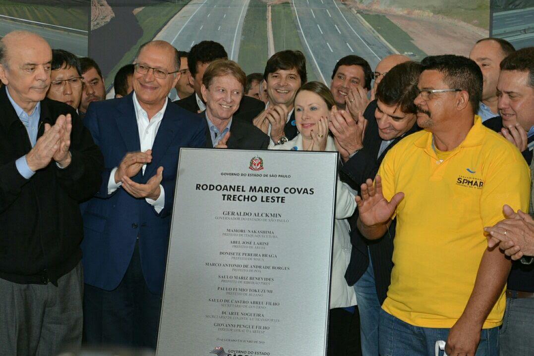 o Rodoanel Mário Covas economizará tempo para quem mora no Alto Tietê e precisava enfrentar o caótico trânsito das Marginais com destino a outras rodovias