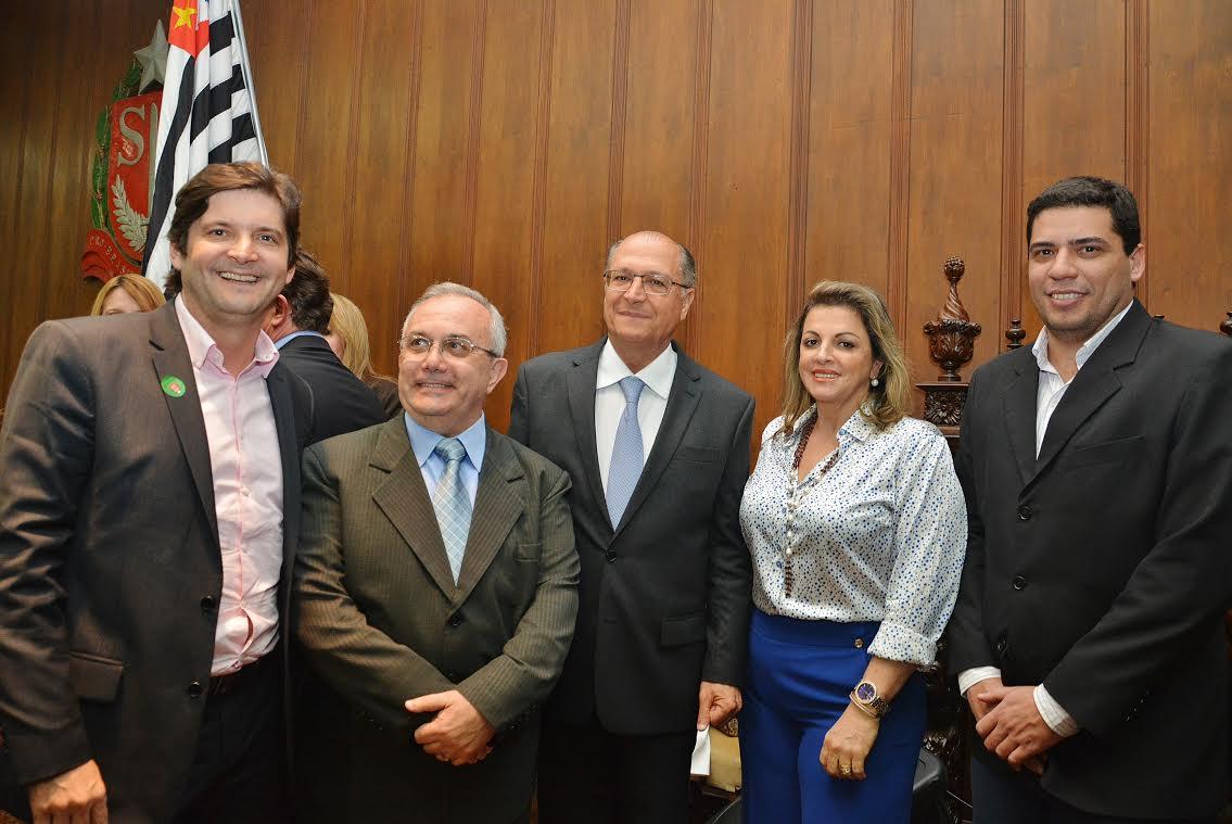 """""""O Governador Geraldo Alckmin é sensível aos pedidos que sempre apresentamos a ele"""""""