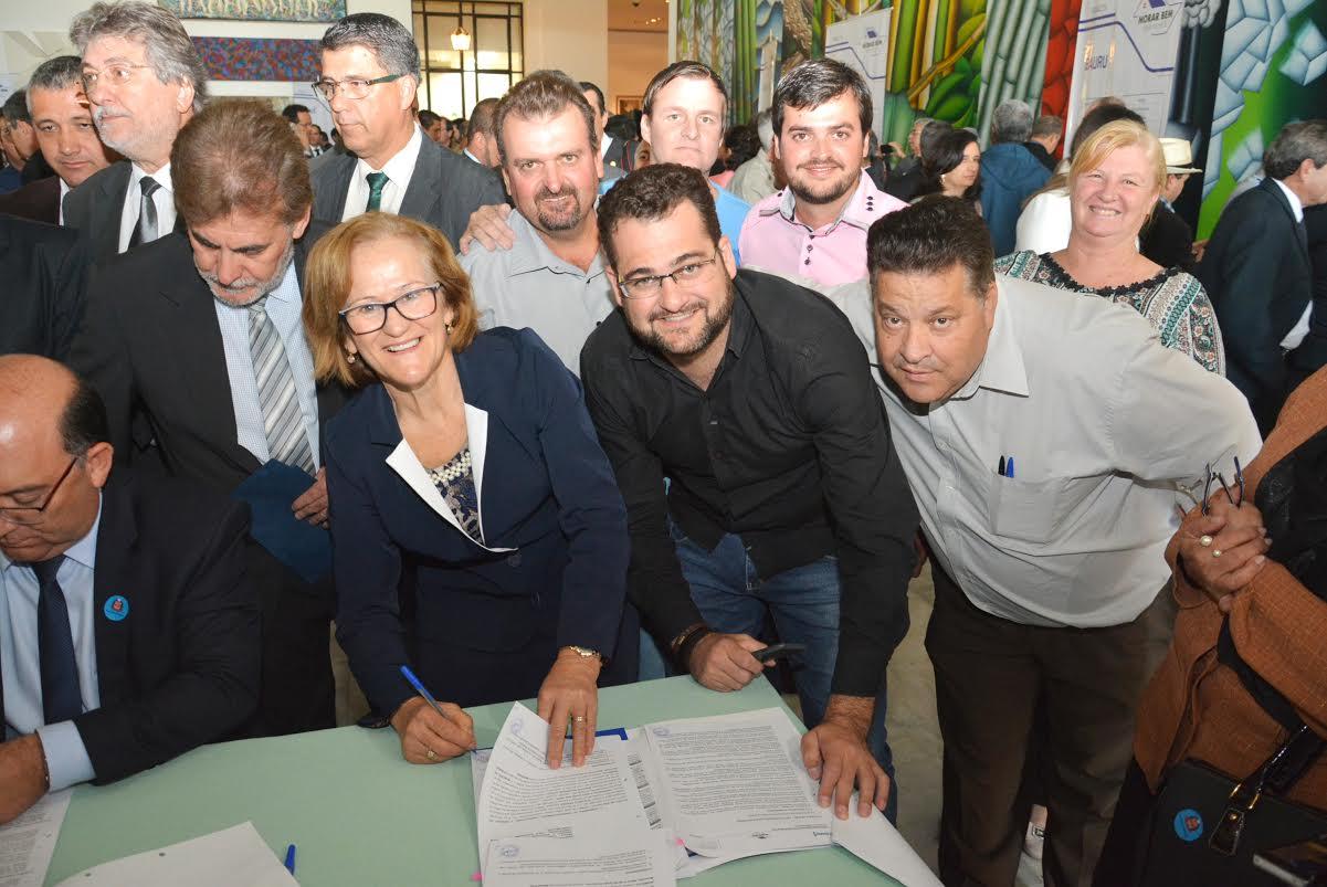 O investimento do Governo do Estado totaliza R$ 7,5 milhões fruto do convênio assinado no Palácio dos Bandeirantes