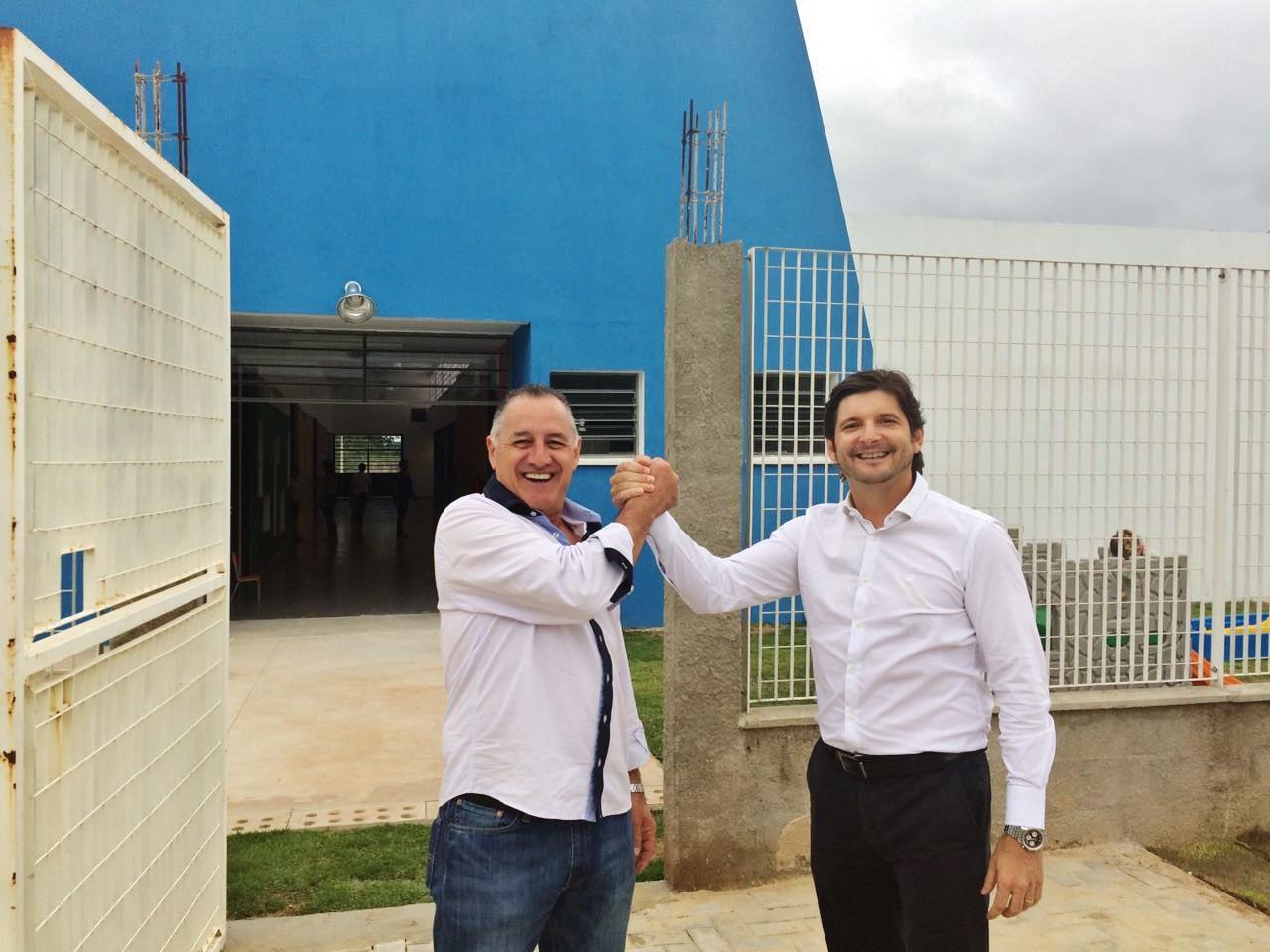 Inauguração da creche escola e do Centro Educacional