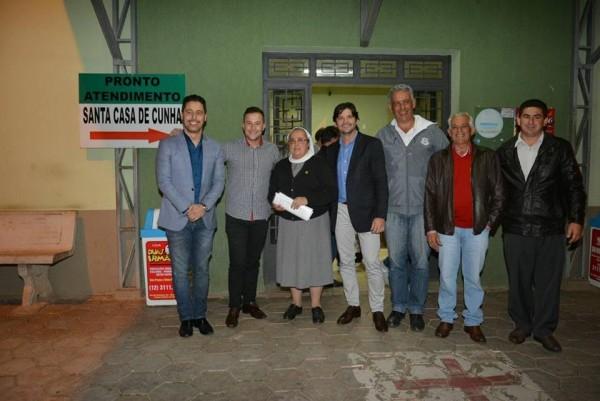 Visita a Santa Casa de Cunha.