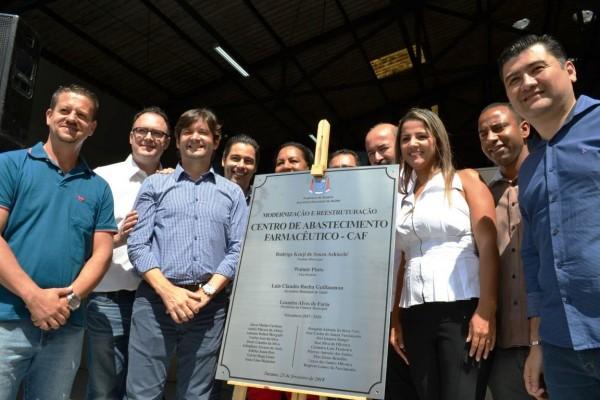 Deputados André do Prado e Marcio Alvino participam de inauguração em Suzano