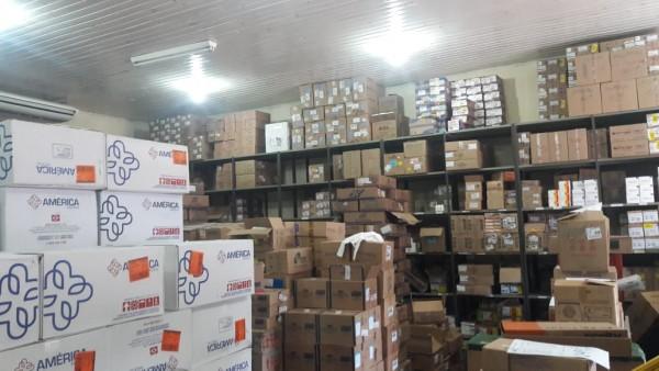 Recursos foram usados para a compra de medicamentos na rede municipal