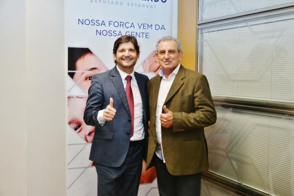Deputado André e prefeito de Juquitiba, Ayres Scorsatto, parceiro na classificação do município como de Interesse Turístico