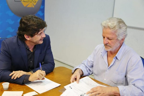 Deputado André do Prado reuniu-se com o superintendente do órgão, engenheiro Paulo César Tagliavini, para solicitar um acesso à SP-77, em Jacareí