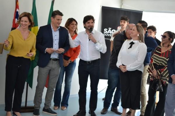Deputado acompanhou a inauguração do Centro Dia do Idoso, em Pindamonhamgaba ao lado do prefeito Dr. Isael Domingues e da secretária de Estado de Desenvolvimento Social, Célia Parnes