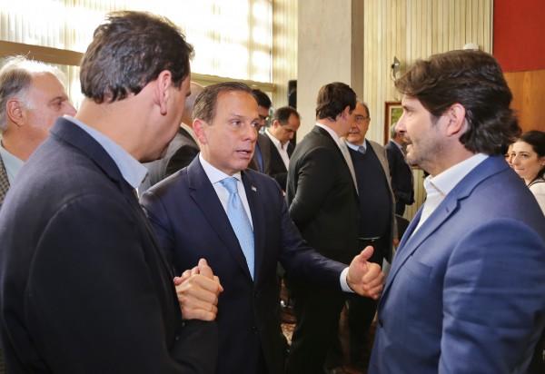 Deputado André do Prado e prefeito, Gian Lopes, reforçam pedidos ao governador