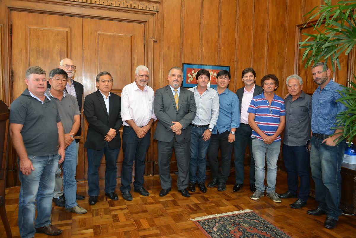 O vice-governador se comprometeu a encaminhar  a questão ao governador Geraldo Alckmin