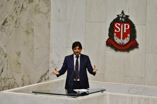 Deputado André do Prado defendeu a aprovação do projeto no plenário.