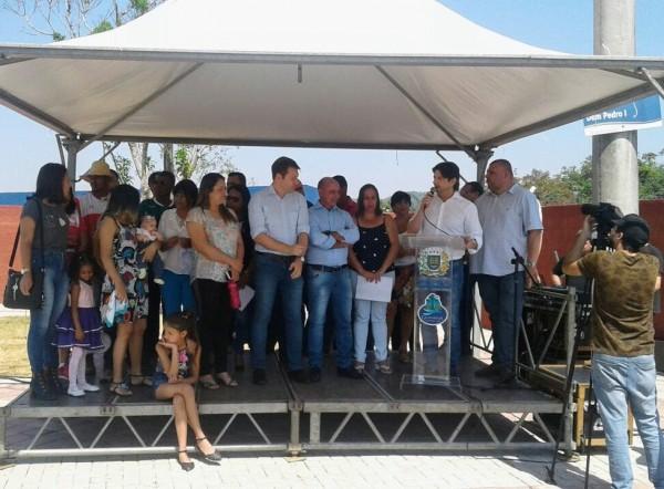 Inauguração da Praça da Juventude