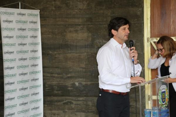 Deputado André do Prado participa de evento em Guararema (SP)