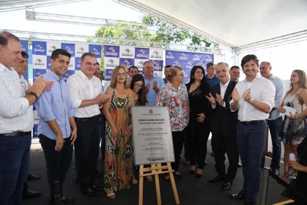 Inauguração da UBS em Jacupiranga