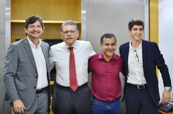 Em agenda no DAEE, deputado levou ao superintendente do órgão demanda de Suzano