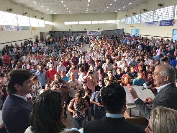Governador Márcio França em vista a Suzano para anunciar investimentos ao Alto Tietê