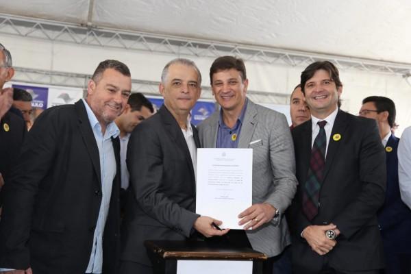 A pedido do deputado André do Prado, o governador, Márcio França, autorizou R$ 4 milhões para obras de infraestrutura em Pindamonhangaba