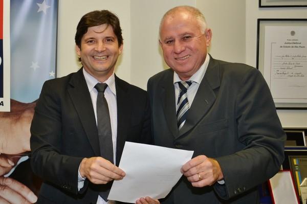 No Palácio dos Bandeirantes, o deputado André do Prado, destina R$ 100 mil, para Barretos
