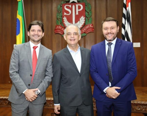 Em solenidade no Palácio dos Bandeirantes, foi assinado convênio de R$ 635 mil para investimentos em Guararema