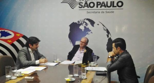 Junto ao governo do Estado, deputado André do Prado e prefeito de Bertioga solicitam ajuda do para finalizar obras no hospital