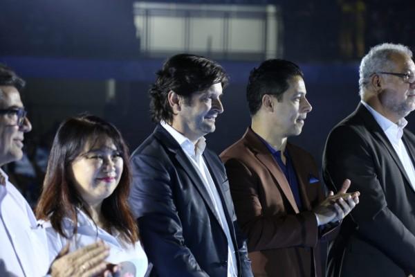 Deputado André do Prado acompanhou a inauguração da Arena Suzano
