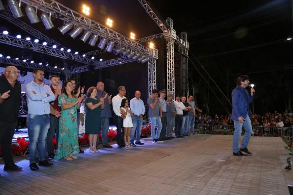 """Deputado André do Prado acompanhou o evento abertura do """"Cidade Natal"""" em Guararema"""