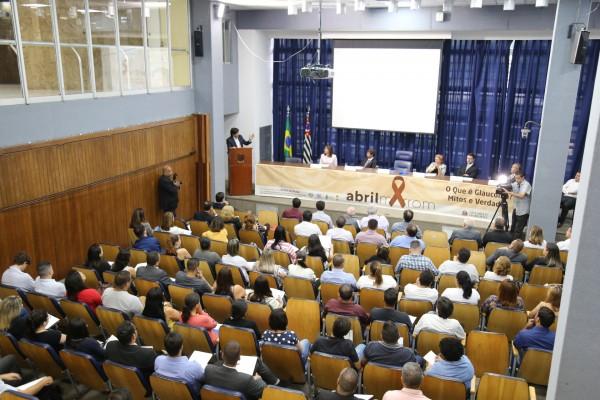 O evento na ALESP encerrou a campanha Abril Marrom