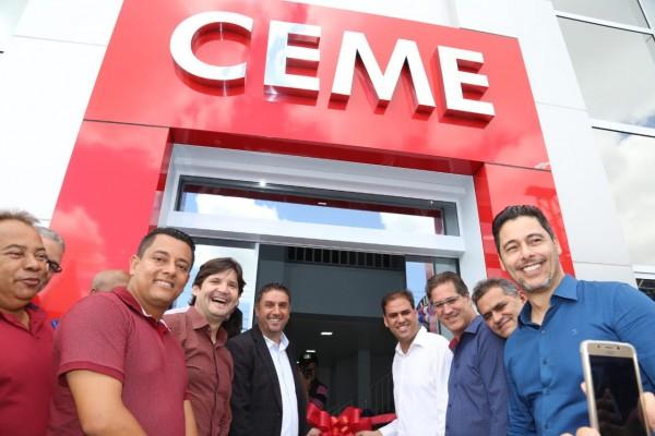 A inauguração faz parte das comemorações de 70 anos de emancipação político-administrativa do município