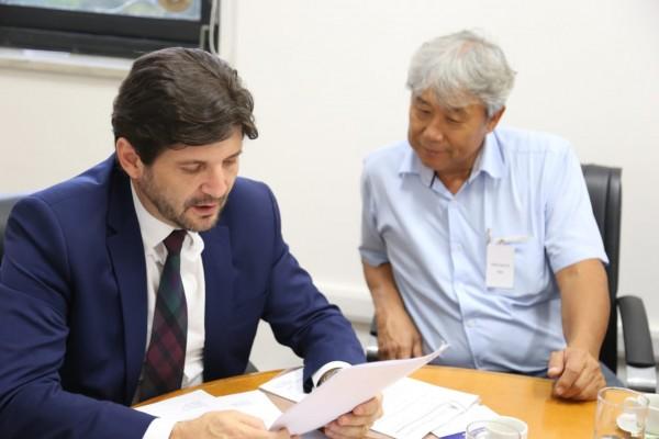 o deputado André do Prado apresentou demandas de Jacareí