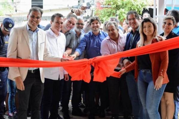 Deputado André do Prado prestigiou a inauguração da Escola Municipal Antonia Mello Regianni