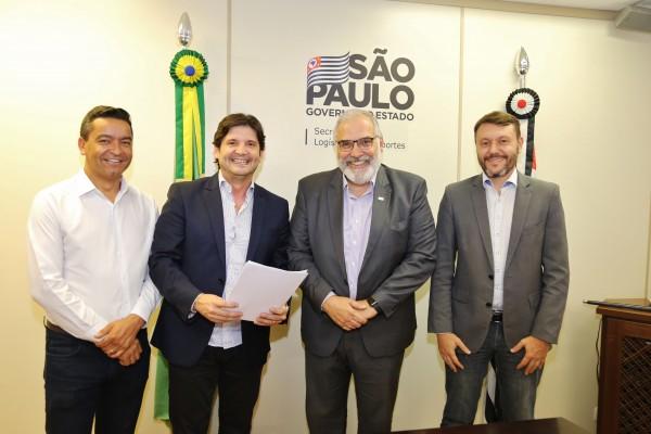 Pavimentação da estrada vicinal Guararema – Salesópolis foi pauta da reunião com com secretário de Transportes